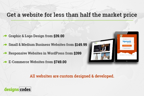 designs codes website packages