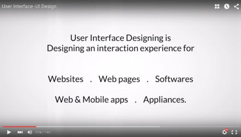 Analyzing User Interface