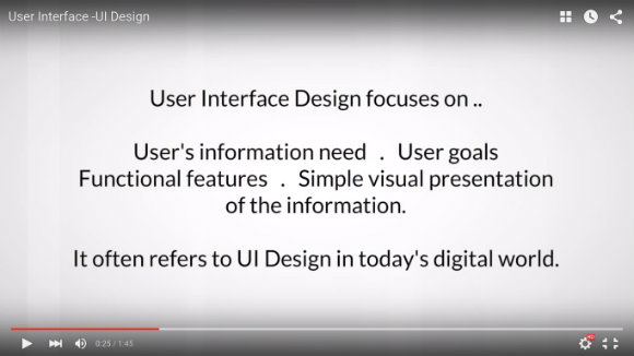 Analyzing User Interface Design