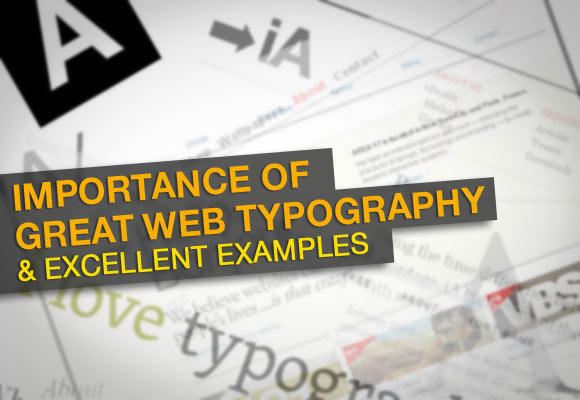 Examples Of Web Typography